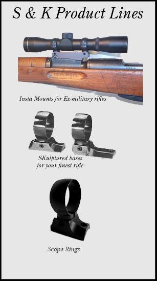 S & K Scope Mounts Home Page - rifle scope, scope mounts